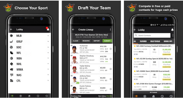 DraftKings - Daily Fantasy Sports for PC