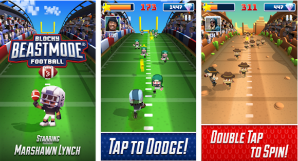 Blocky BEAST MODE Football for PC