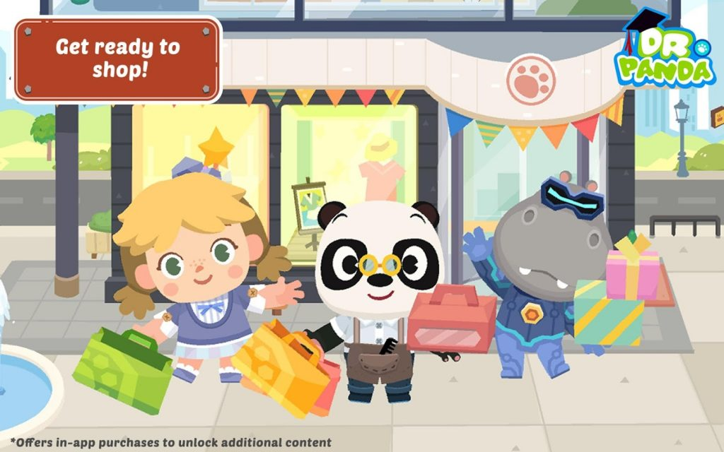 Dr. Panda Town Mall For PC