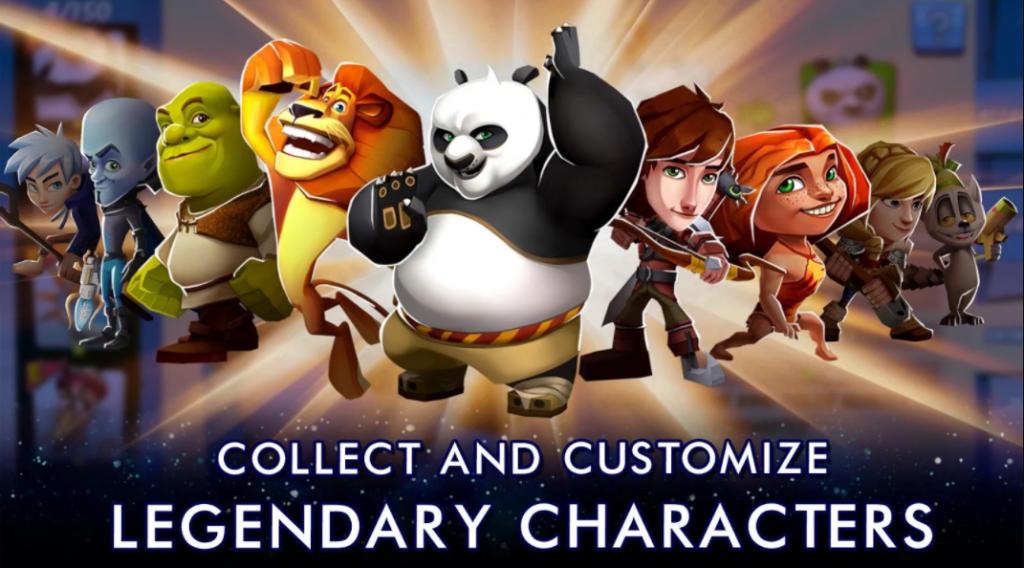 DreamWorks Universe of Legends PC & Windows