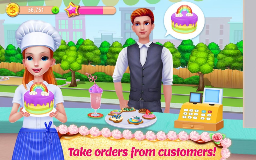 My Bakery Empire Bake, Decorate & Serve Cakes For PC