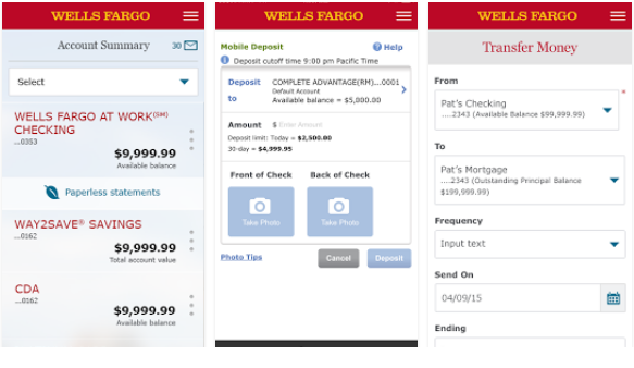 Wells Fargo Mobile for PC