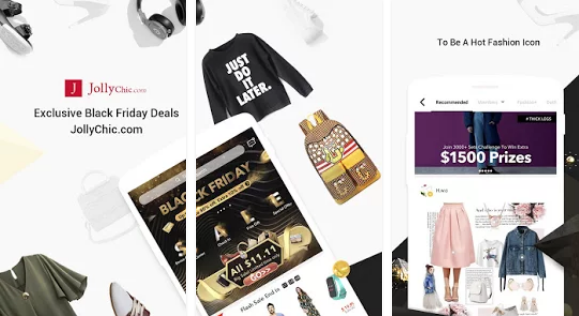 JollyChic-Online Shopping Mall for PC