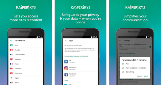 Kaspersky VPN for PC: Available on Windows/Mac